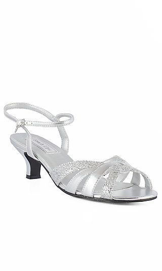 Silver Prom Shoes, Sexy Silver High Heels