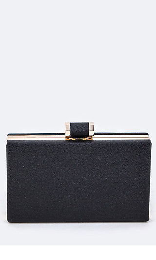Tassel Box Clutch by Le Chic