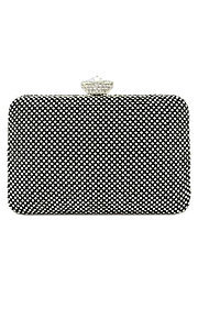 Crystal Clutch by Le Chic