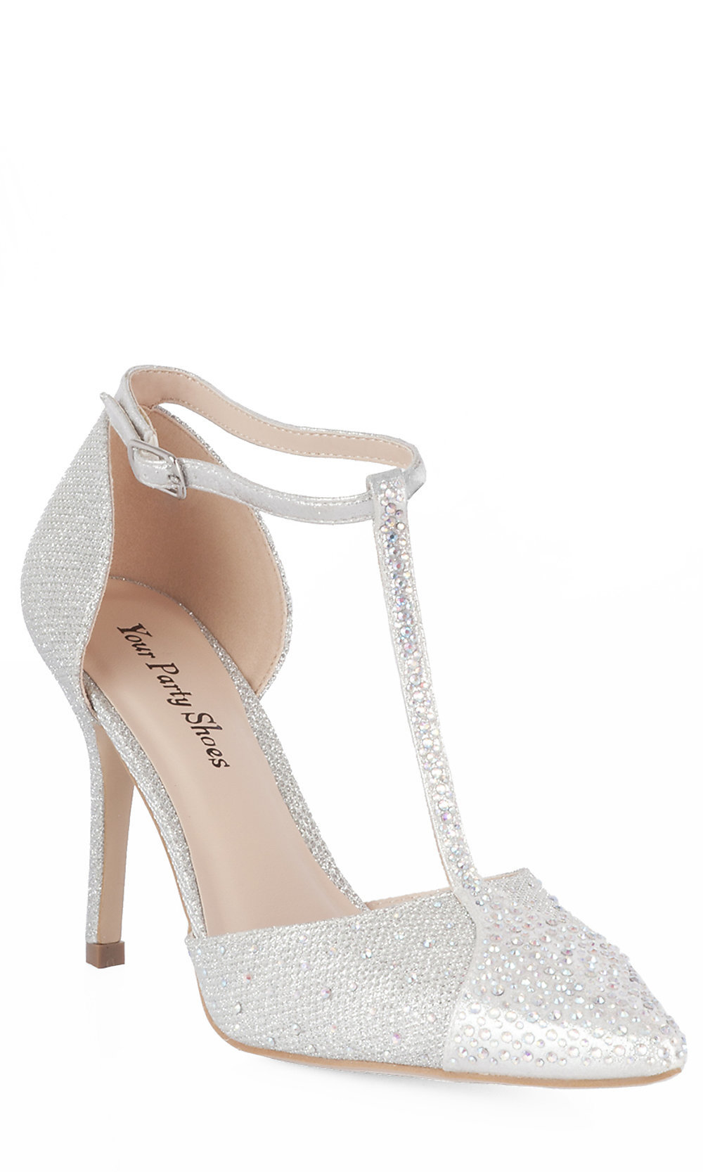 Silver Dress Shoes Closed Toe