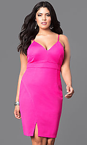 Empire Waist Plus-Size Party Dress