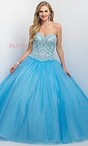 Tulle Siempre Dulce by Blush Quinceanera Dress