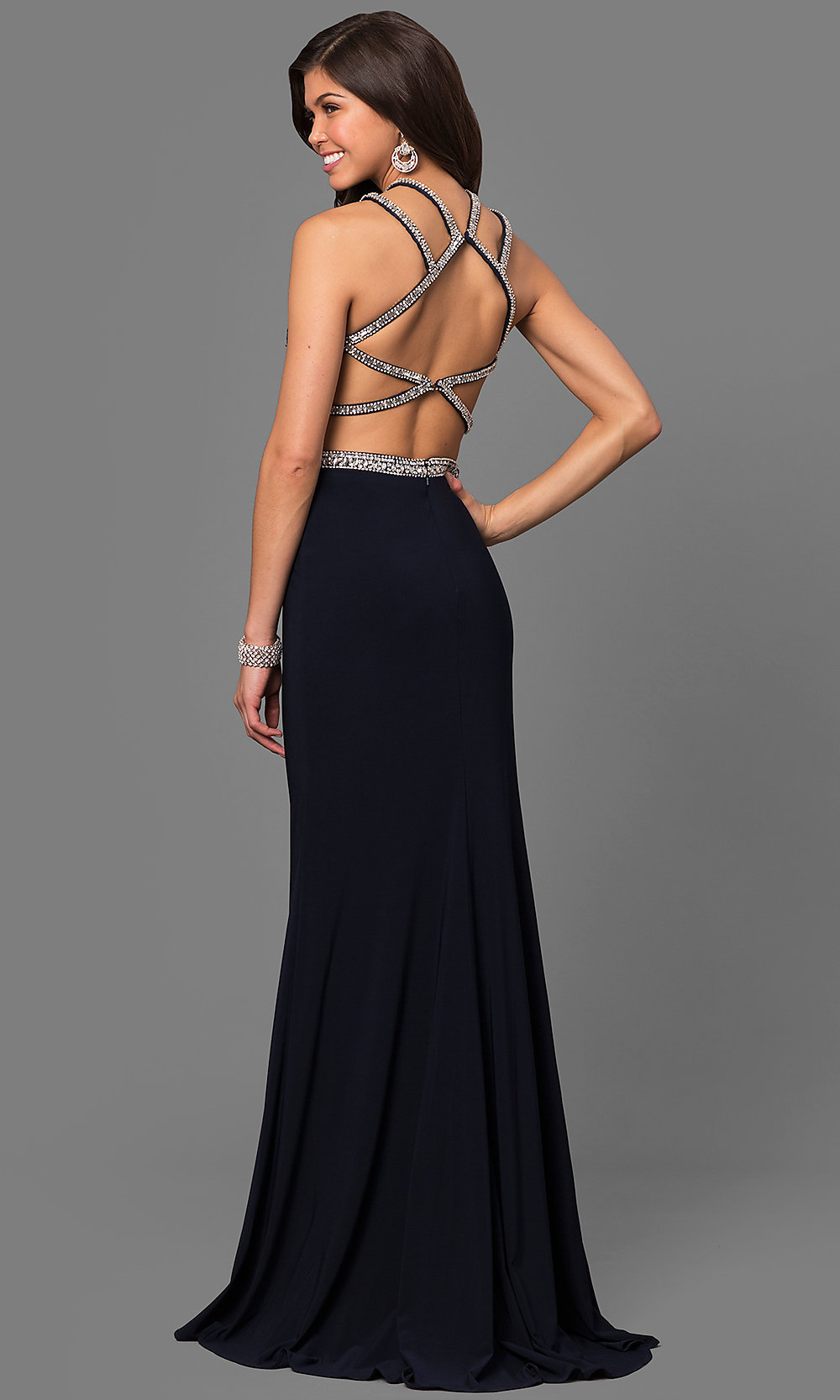 Celebrity Prom Dresses, Sexy Evening Gowns - PromGirl: AL-8010
