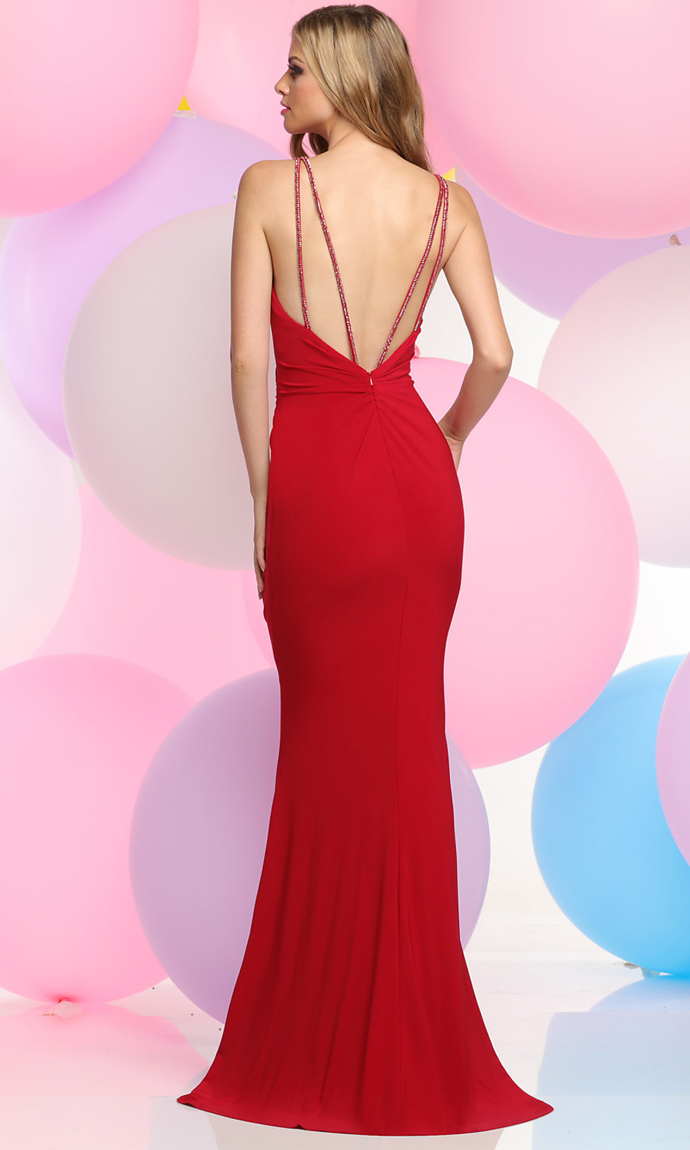 Celebrity Prom Dresses, Sexy Evening Gowns - PromGirl: ZG-30891