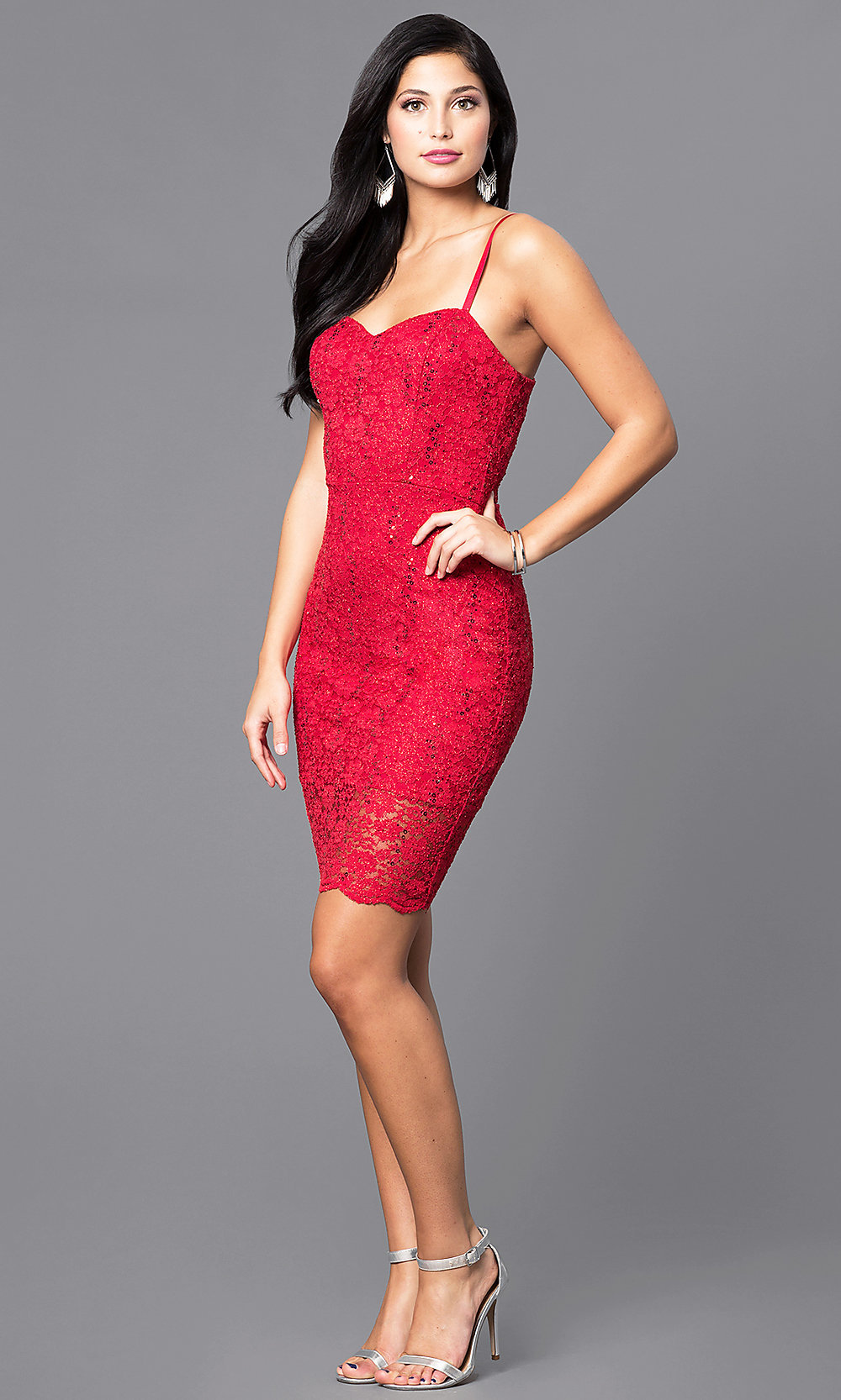 cheap sequinlace holiday party dress  promgirl