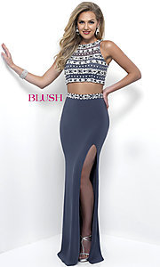 Long Two Piece Prom Dress by Blush
