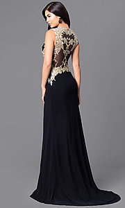 Long Black Formal Prom Dress from JVNX by Jovani