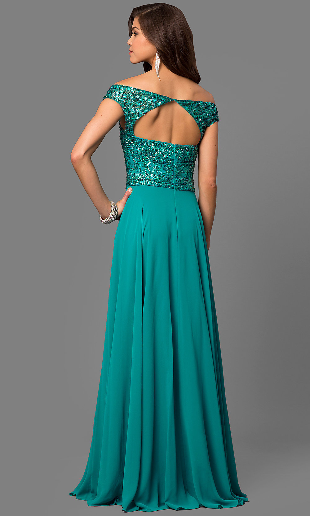 Celebrity Prom Dresses, Sexy Evening Gowns - PromGirl: MF-E2094