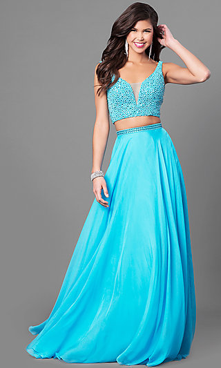 Prom Dresses For Busty Figures Sexy Halter Gowns Promgirl