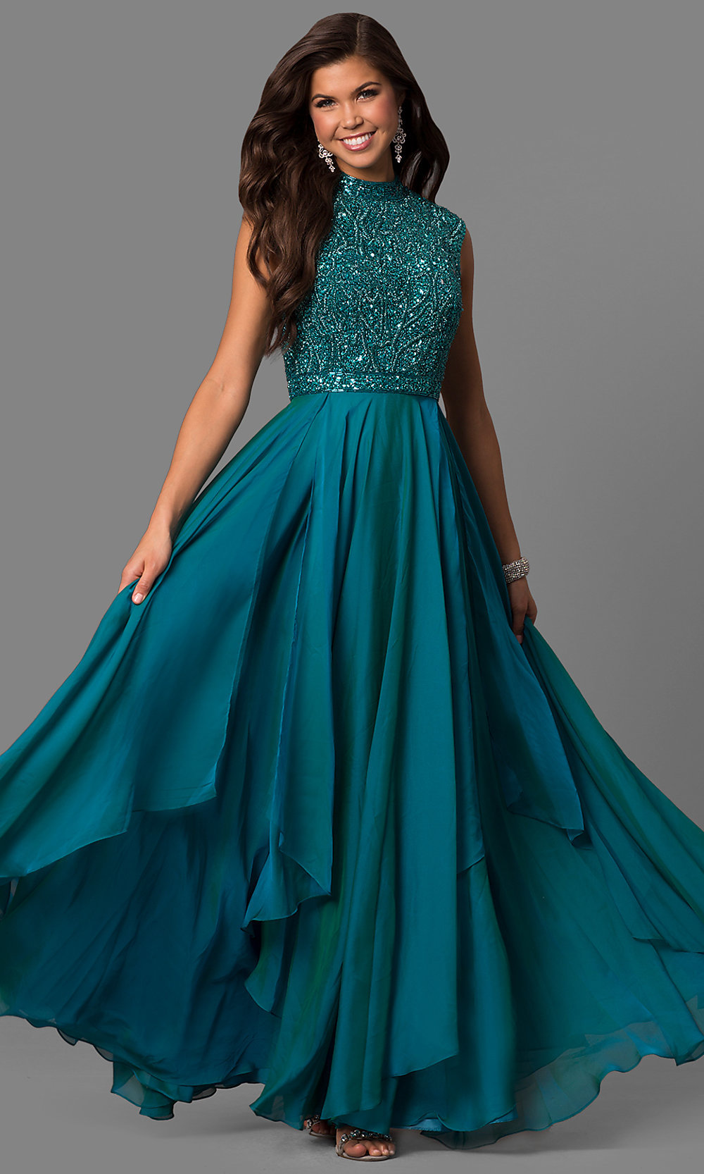 Prom dress sherri hill jade