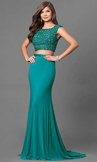 Green Prom- Special Occasion Dresses