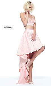 Sherri Hill High-Low Prom Dress