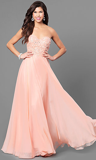 Orange Prom Dresses, Orange Formal Dresses