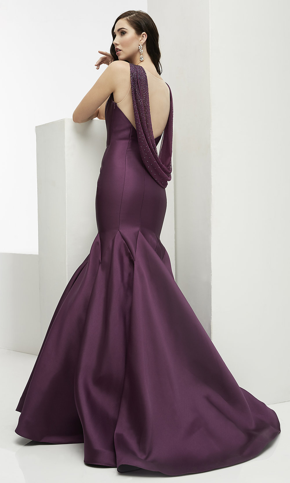 Image result for aubergine gown