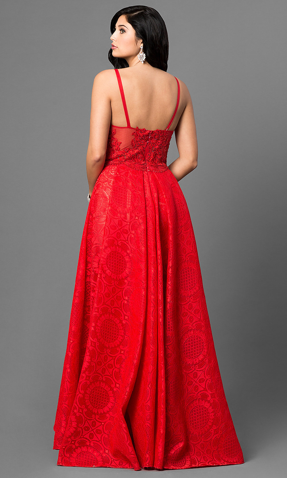 Celebrity Prom Dresses, Sexy Evening Gowns - PromGirl: TE-6039