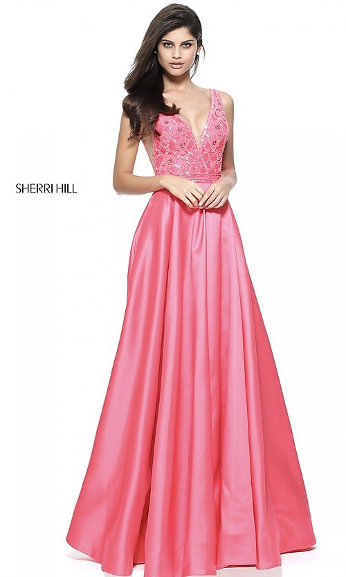 Celebrity Prom Dresses, Sexy Evening Gowns - PromGirl: SH-50964