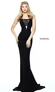 Sherri Hill Prom Dress with Lace Accents