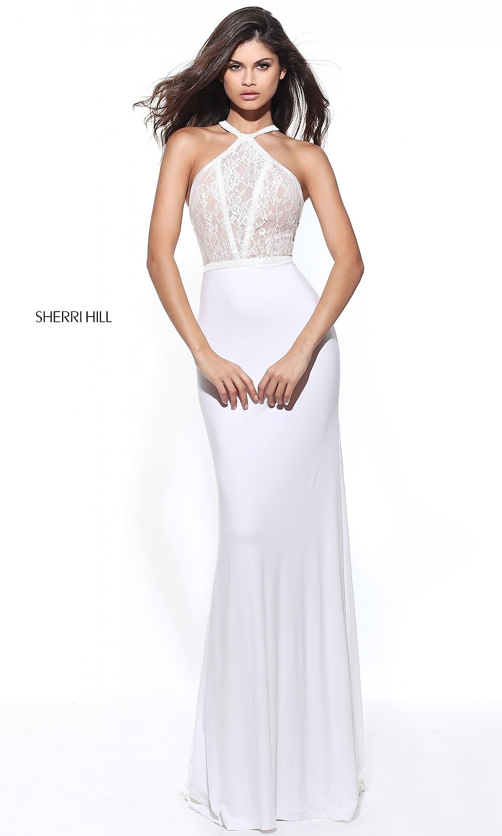 ivory mermaid prom dresses