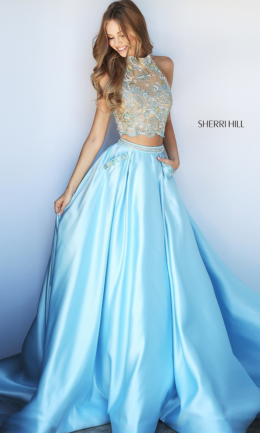 Celebrity Prom Dresses, Sexy Evening Gowns - PromGirl: SH-51041