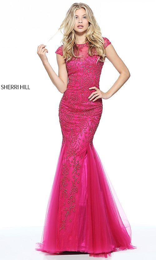 Celebrity Prom Dresses, Sexy Evening Gowns - PromGirl: SH-51117