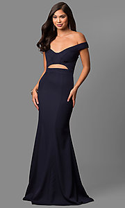 Off-the-Shoulder Sweetheart Prom Dress by Jolene