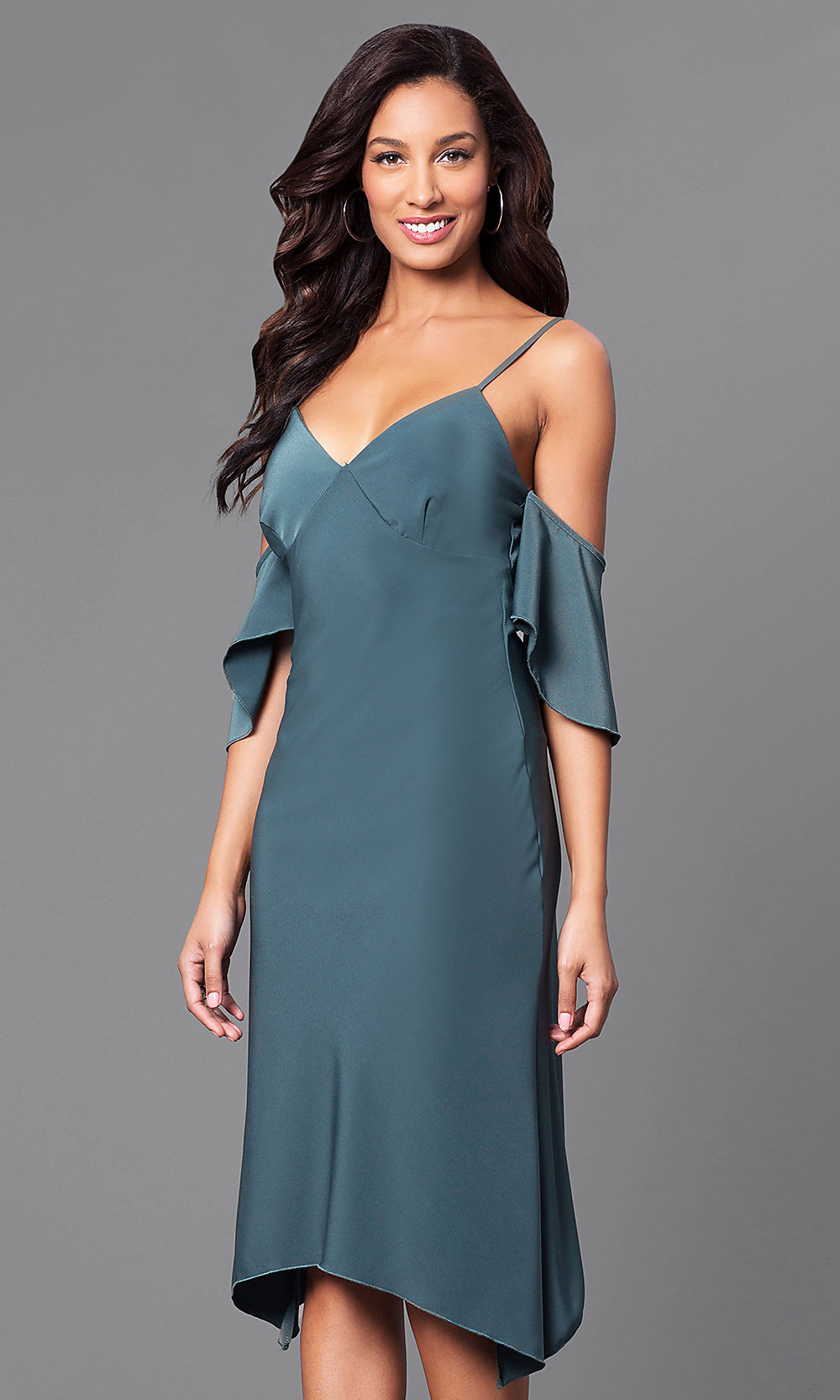 Celebrity Prom Dresses, Sexy Evening Gowns - PromGirl: MD-D15118TTN