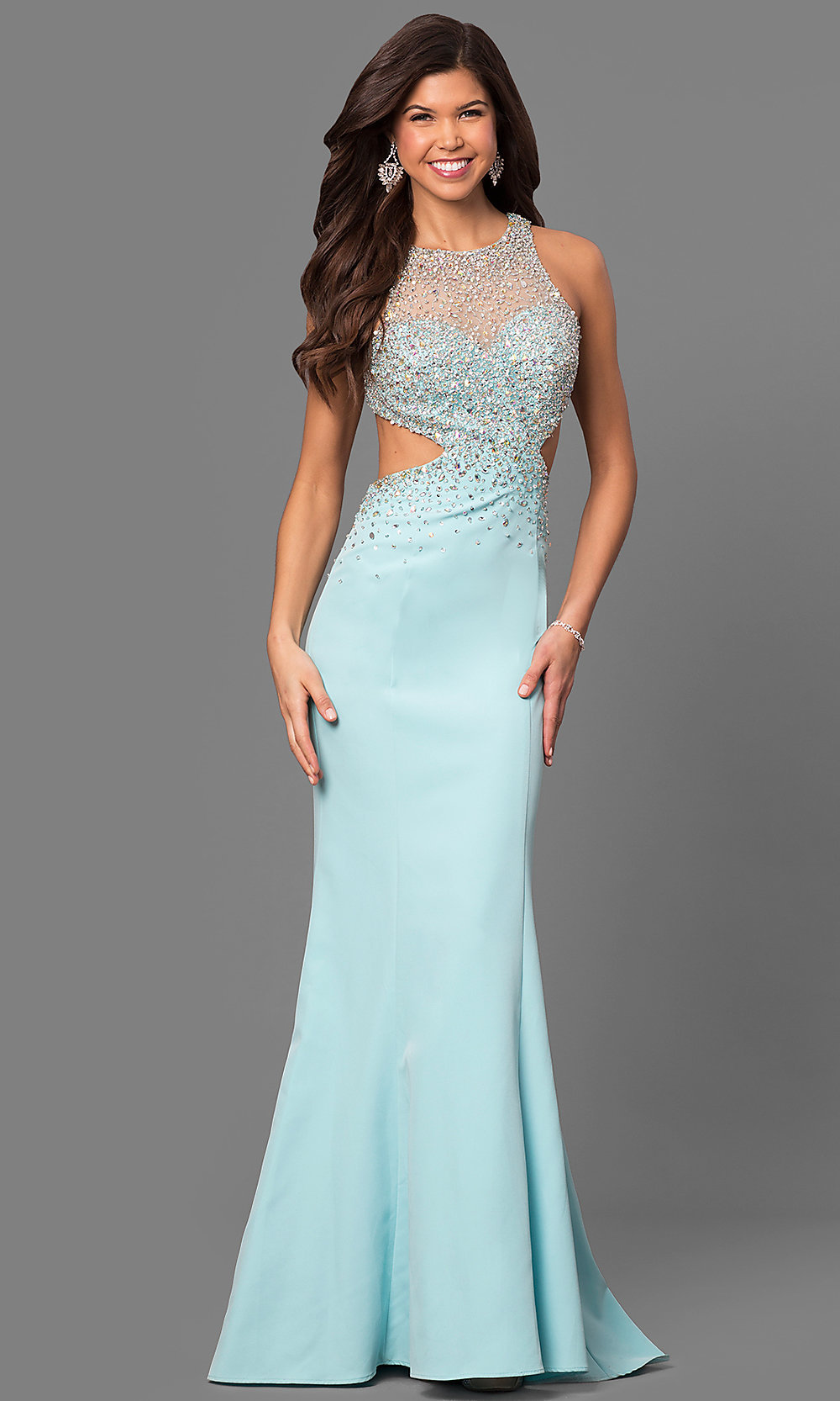 Celebrity Prom Dresses, Sexy Evening Gowns - PromGirl: LF-23896