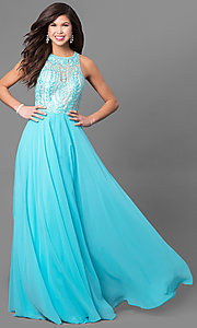 Sheer Back Prom Dress from Splash by Landa