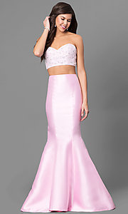 Two-Piece Mermaid Style Splash by Landa Prom Dress