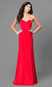 Strapless Long Classic Prom Dress
