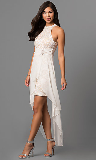 Ivory Prom Dresses- Ivory Evening Gowns
