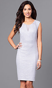Knee Length Short Sheath Party Dress