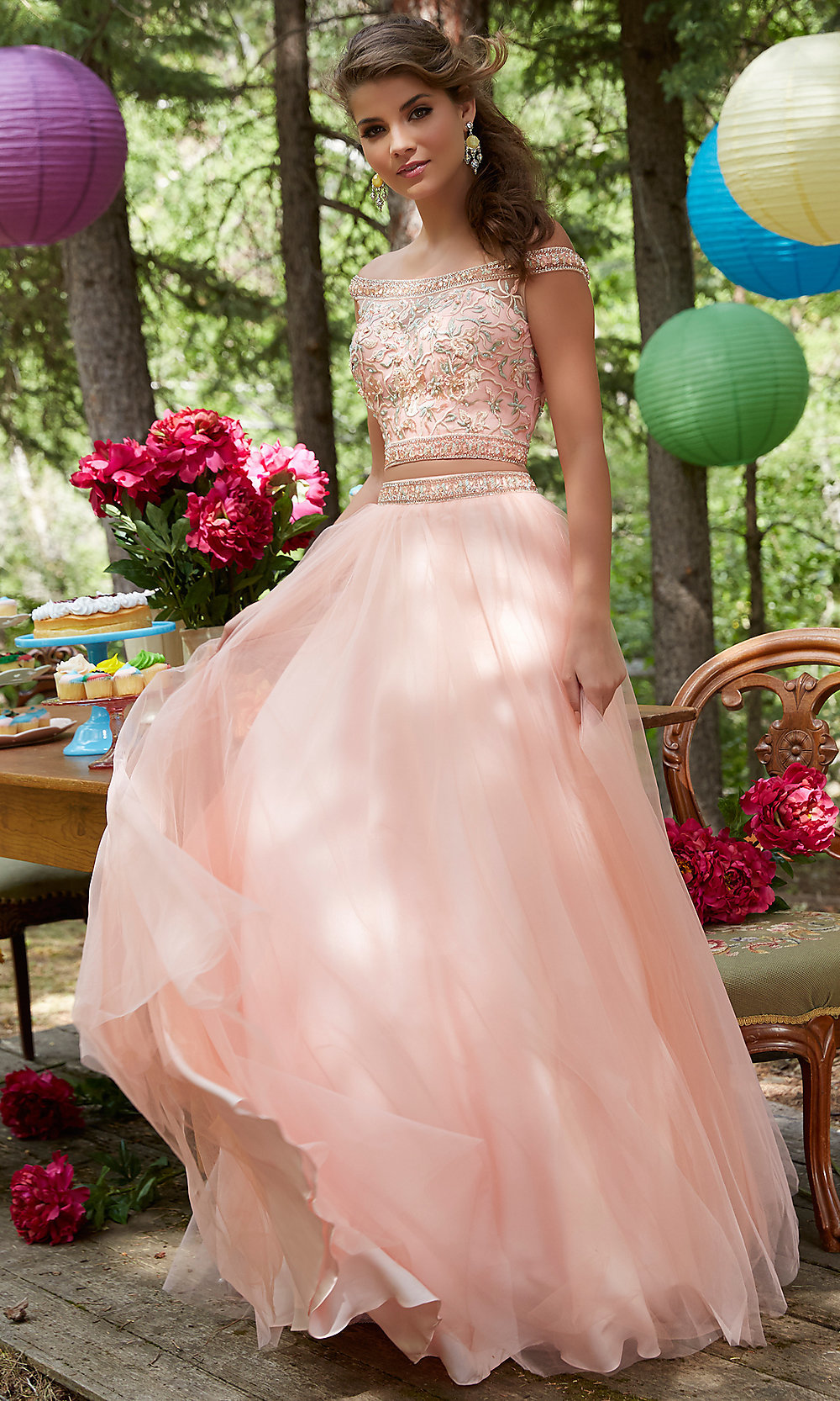 Celebrity Prom Dresses, Sexy Evening Gowns - PromGirl: ML-99023