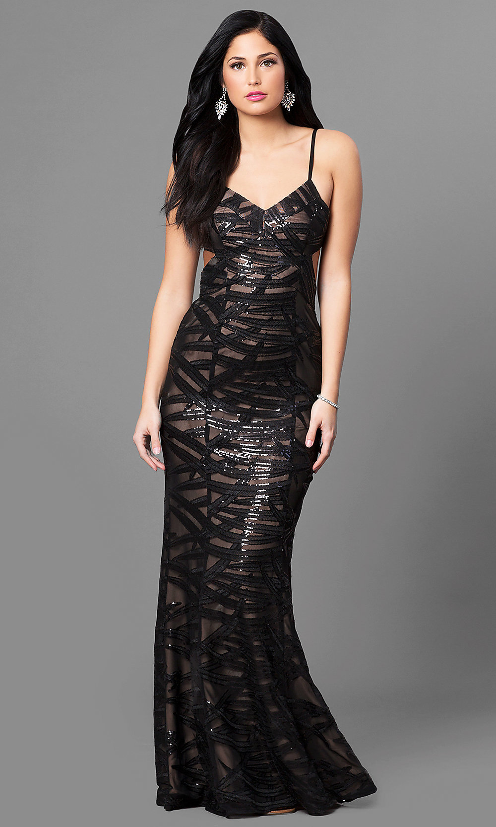 Find long black sequin dress at ShopStyle. Shop the latest collection of long black sequin dress from the most popular stores - all in one place.