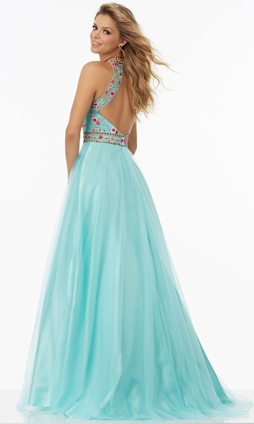 Celebrity Prom Dresses, Sexy Evening Gowns - PromGirl: ML-99093