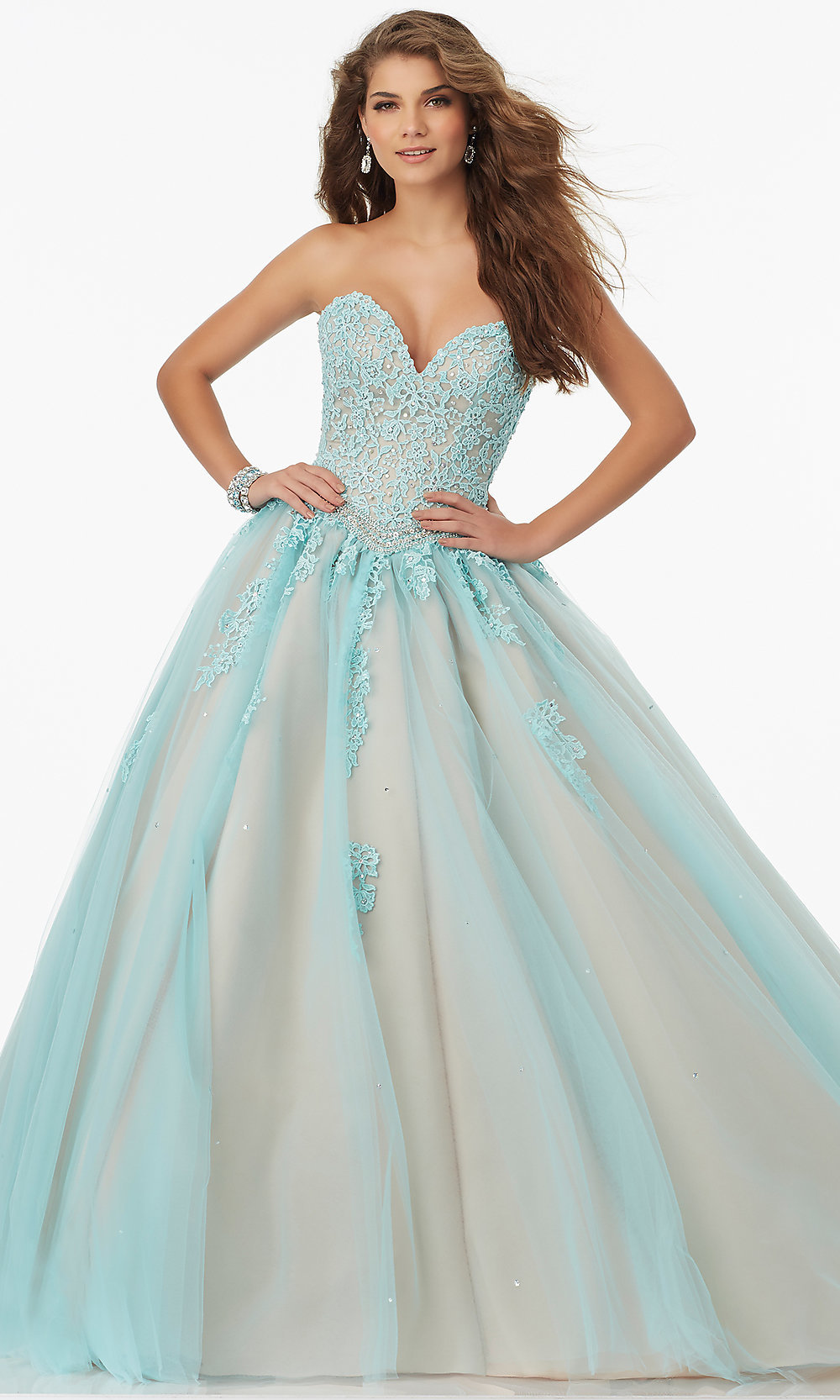 Celebrity Prom Dresses, Sexy Evening Gowns - PromGirl: ML-99114