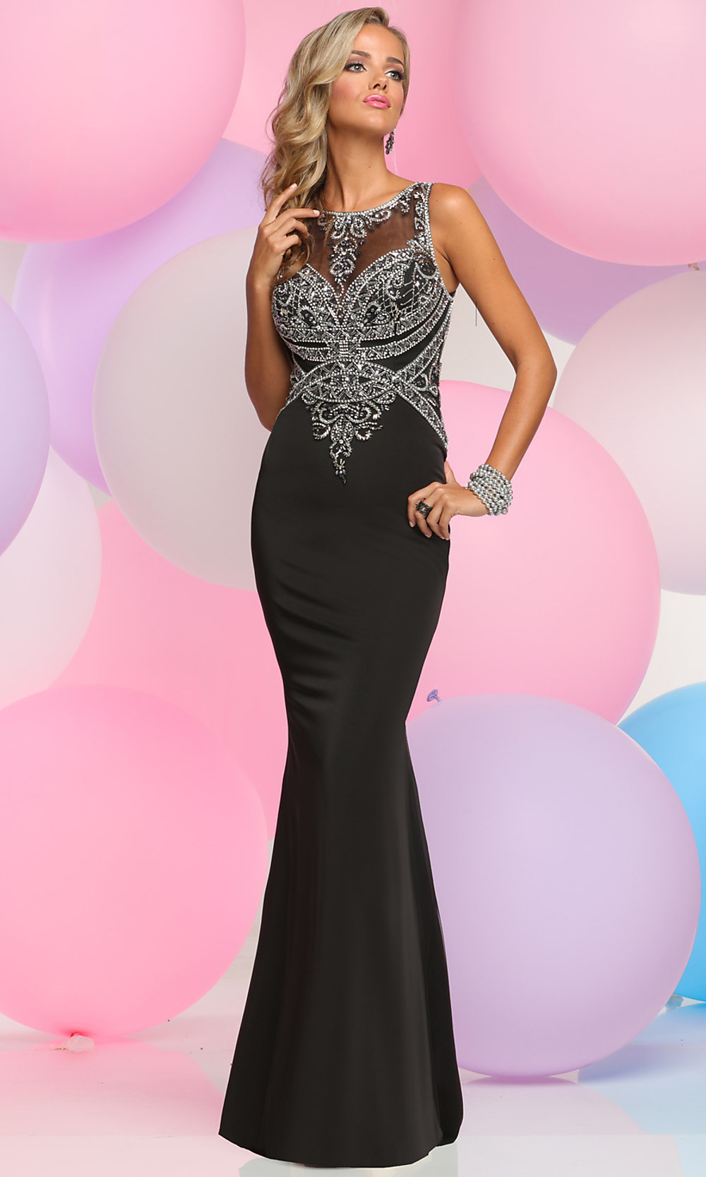 Celebrity Prom Dresses, Sexy Evening Gowns - PromGirl: ZG-30918