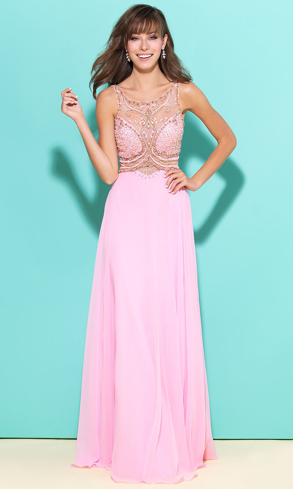 Celebrity Prom Dresses, Sexy Evening Gowns - PromGirl: NM-17-279