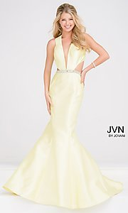 Designer Mermaid Prom Dress