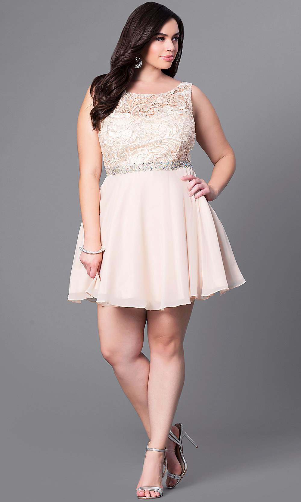 Plus Size Pink And Blush Prom Dresses Promgirl