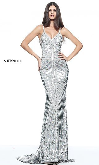 Celebrity Prom Dresses, Sexy Evening Gowns - PromGirl: SH-51206
