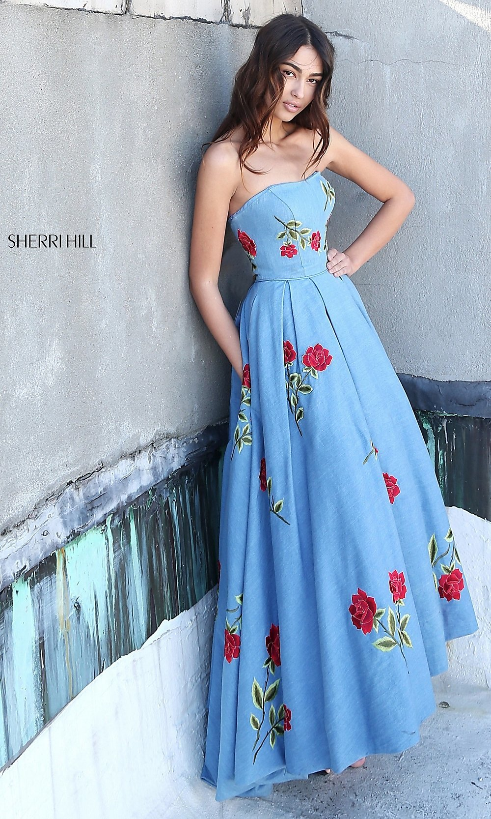 Celebrity Prom Dresses, Sexy Evening Gowns - PromGirl: SH-51154