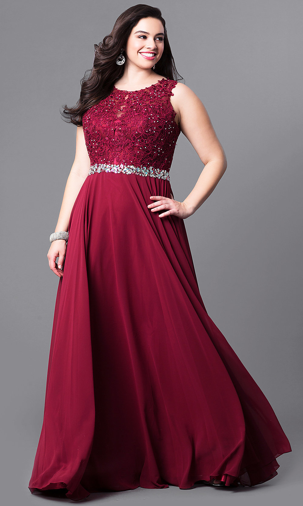 women plus size prom dresses short hairstyle 2013