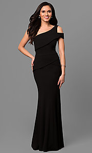 One Shoulder Long Prom Dress