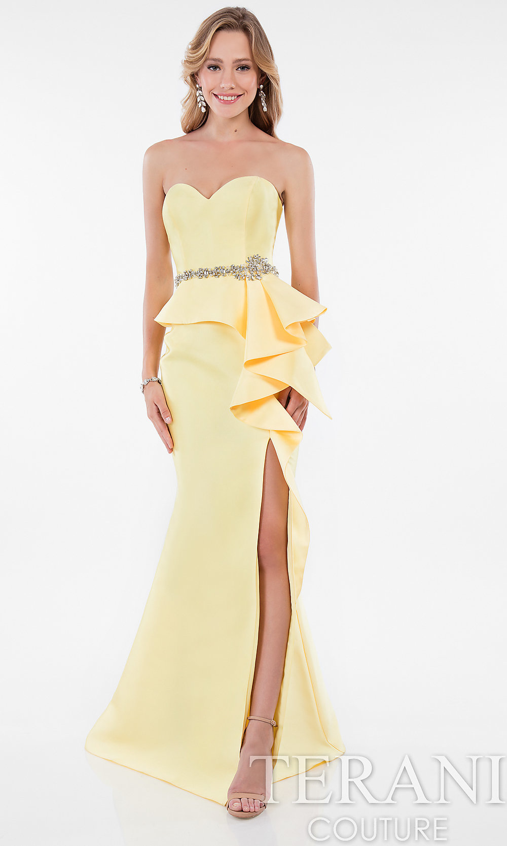 Yellow Prom Gowns and Short Yellow Dresses - PromGirl