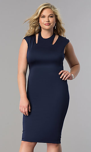 Plus-Size Special Occasion Holiday Dresses - PromGirl