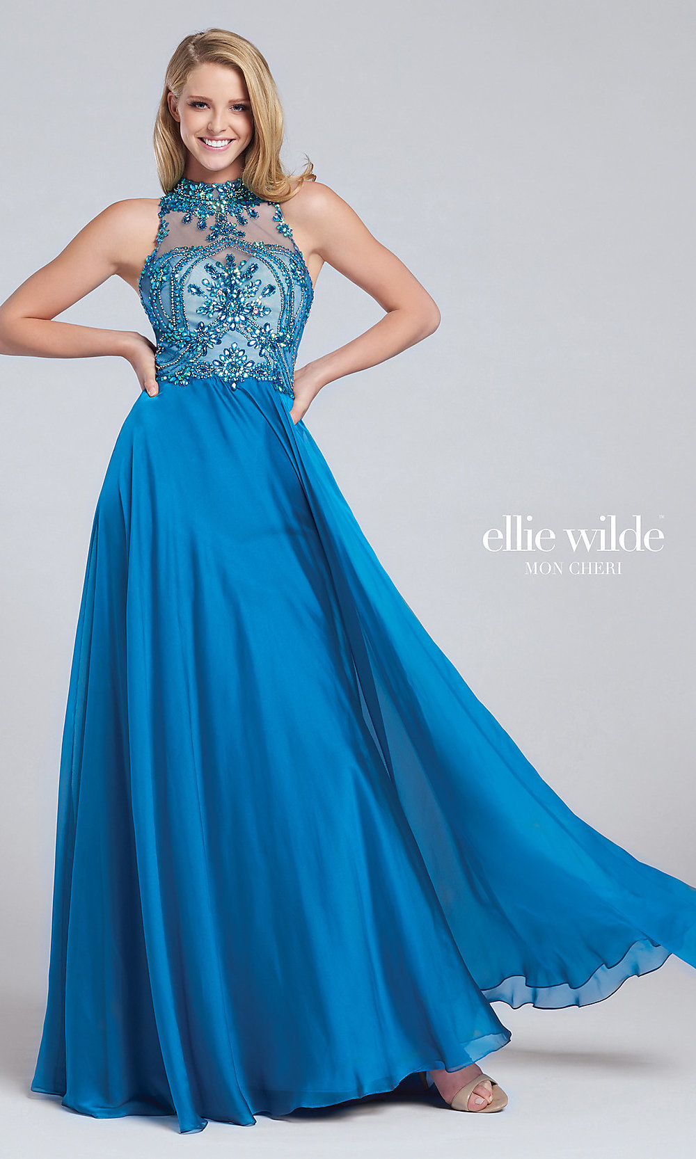 Celebrity Prom Dresses, Sexy Evening Gowns - PromGirl: TB-EW117075