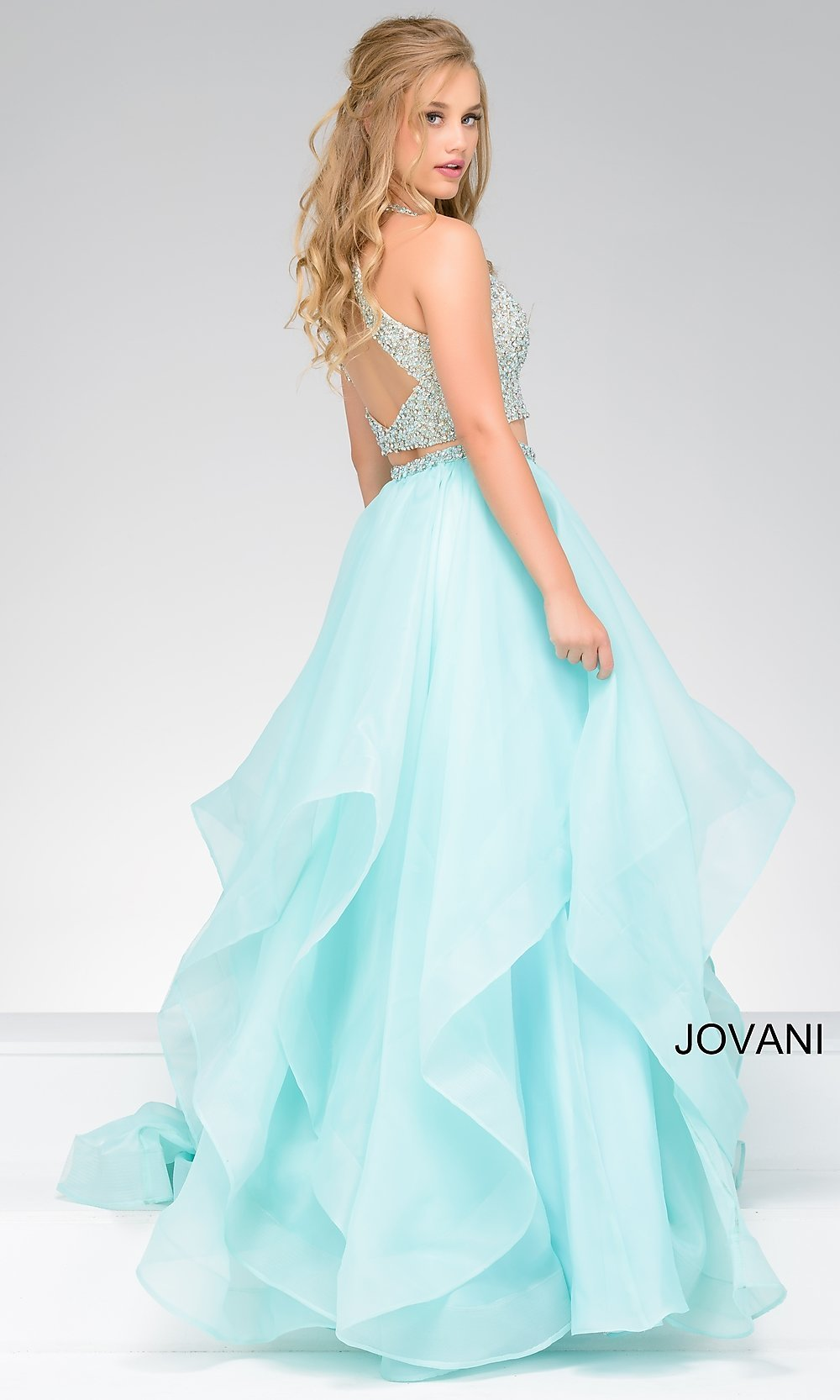 Celebrity Prom Dresses, Sexy Evening Gowns - PromGirl: JO-33220