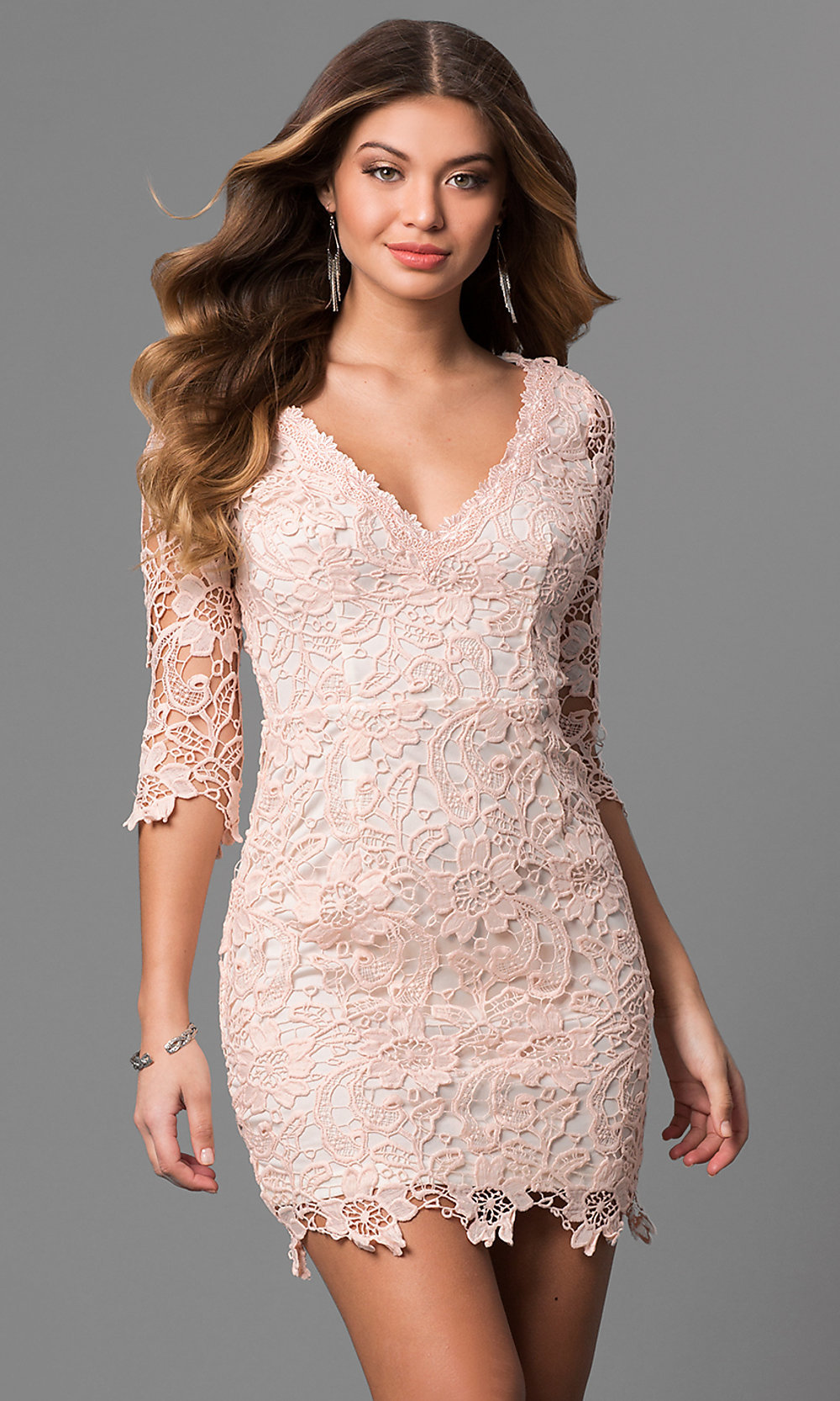 Dress For Graduation With Sleeves