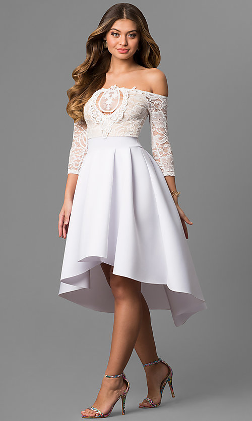 Off Shoulder Cocktail Dresses for Women
